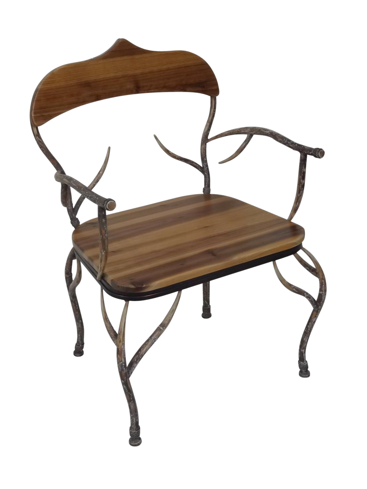Astonishing Deer Antler All Weather Home Outdoor Patio Wooden Lounge Machost Co Dining Chair Design Ideas Machostcouk