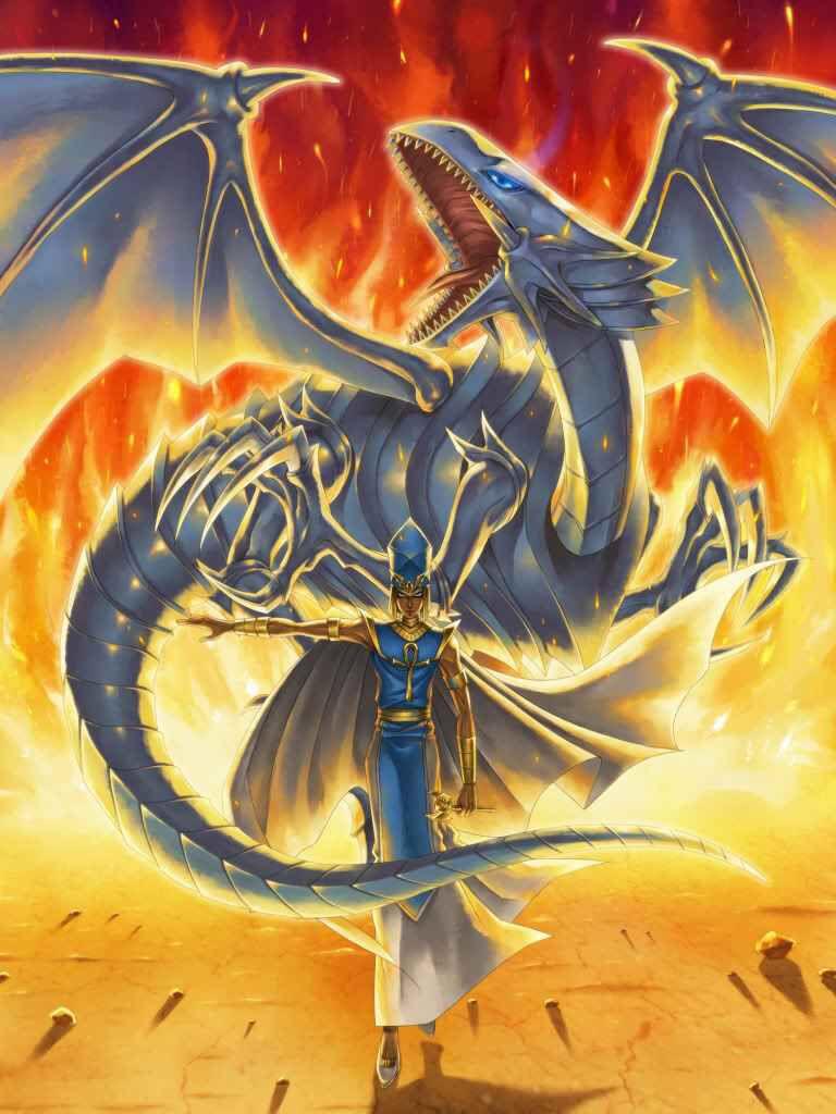 Seto Kaiba And Blue Eyes White Dragon Anime Wallpapers White