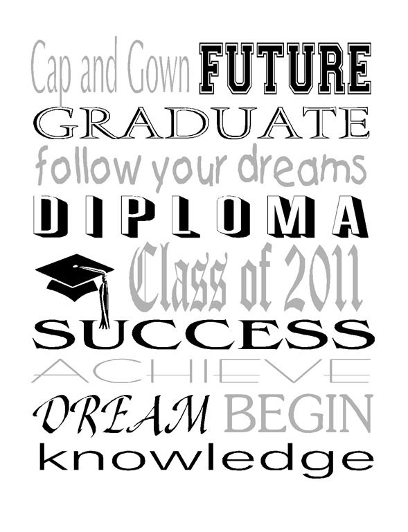 Graduation Subway White2.jpg | Love quotes, Greatful ...