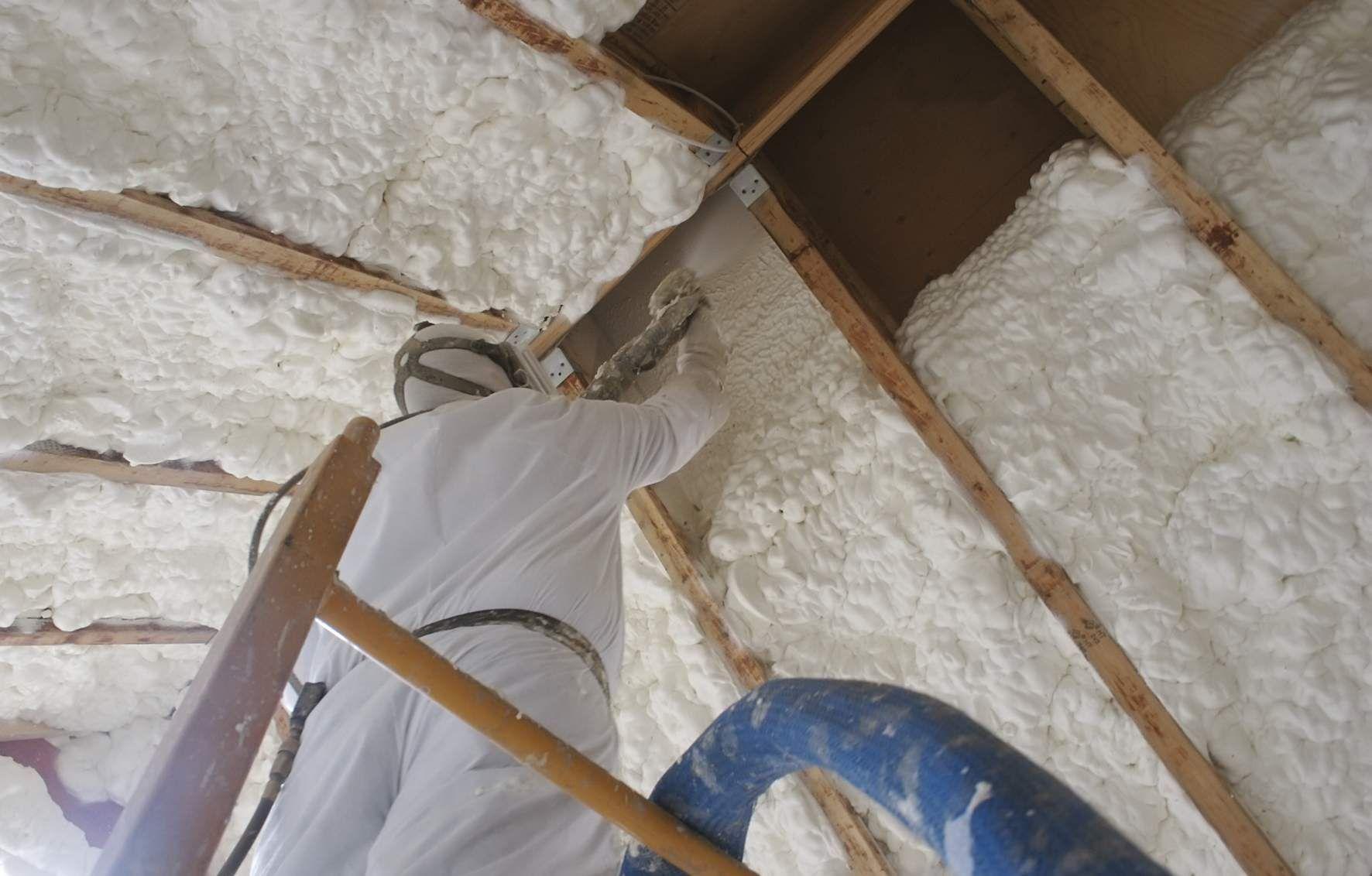 Graco Spray Foam Insulation Equipment Spray Foam Insulation Attic Insulation Attic Flooring