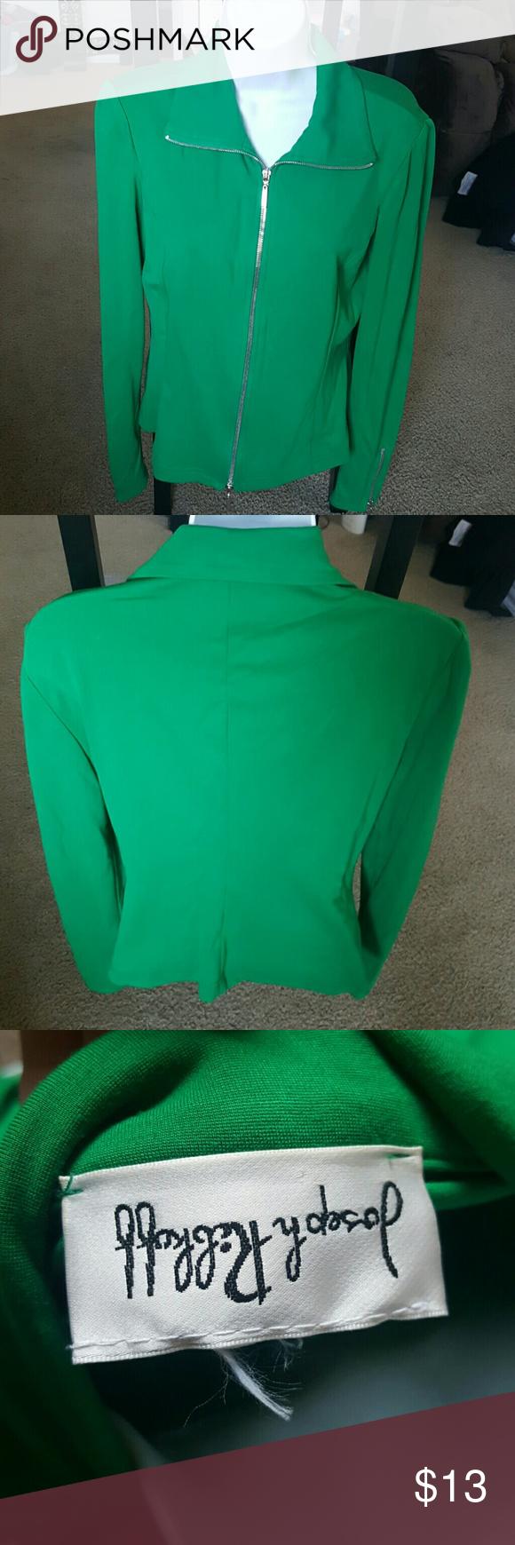Joseph Ribkoff  - green jacket (L) Large - green jacket Joseph Ribkoff Jackets & Coats