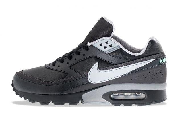 Nike Air Max Bw Black Silver Nike Air Max Nike Nike Free Shoes