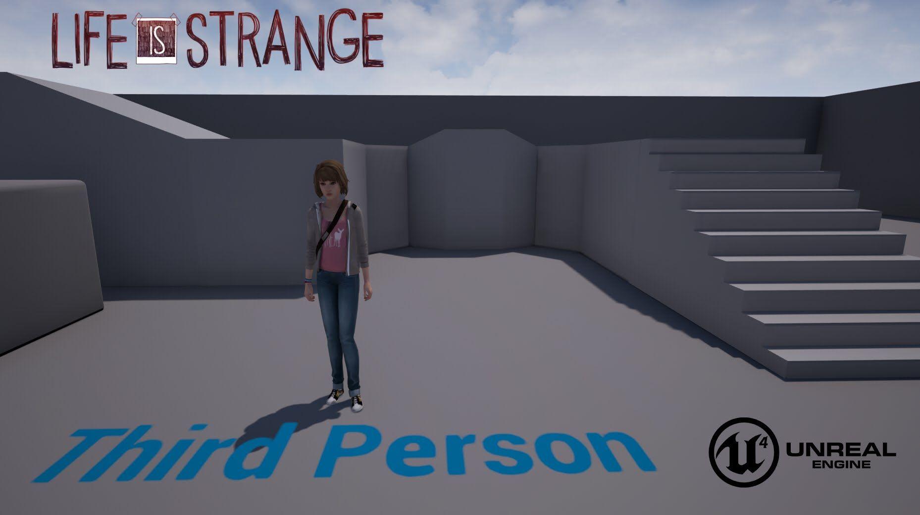 Unreal Engine 4 Tutorial Basic Movement Max Unreal Engine Engineering Life Is Strange