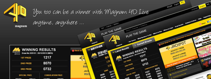 iLottery Magnum 4D information by iBET Malaysia | Online 4D betting