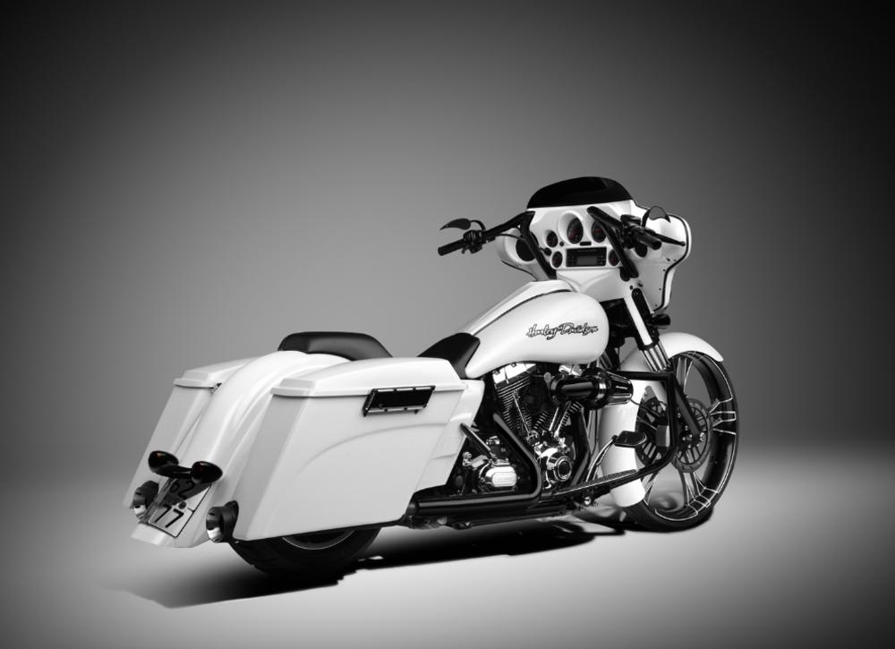 MotoGarage Custom Harley Street Glide - Gallery   Street ...