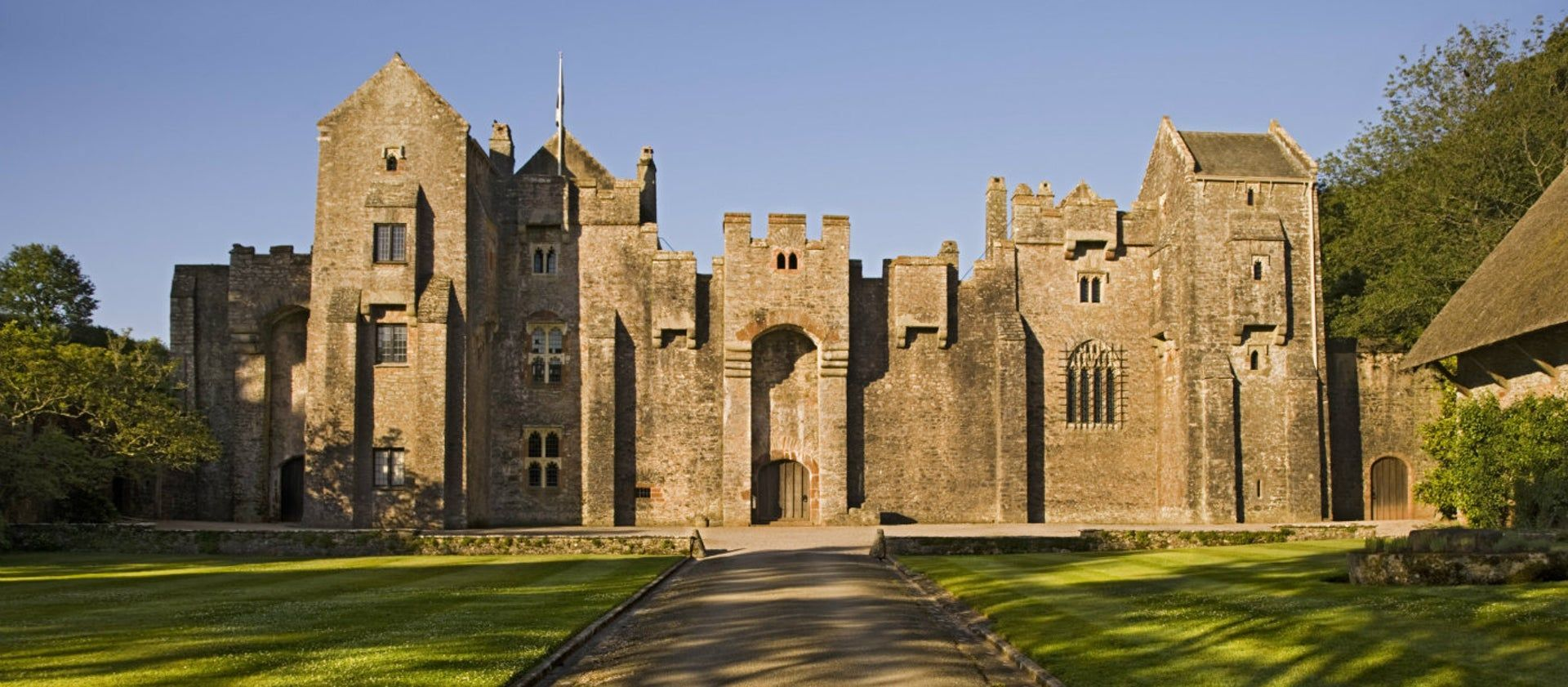 The National Trust's Compton Castle, Devon, is a dramatic fortified manor house ... -  The National Trust's Compton Castle, Devon, is a dramatic fortified manor house and small formal  - #castle #compton #Containergarden #Cottagegardens #devon #dramatic #Englishgardens #Formalgardens #fortified #Gardenideas #hedges #Herbgardendesign #house #Landscapedesign #manor #Moderngardendesign #Moderngardens #National #trust #Trusts #Waterfeatures