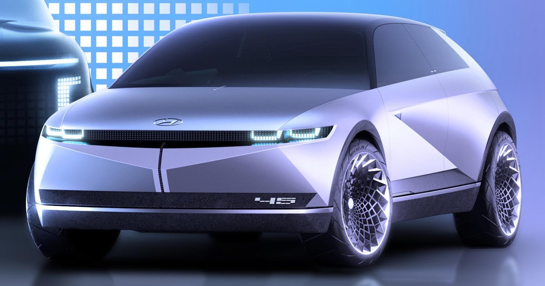 هيونداي موتور تعلن عن علامة أيونيك الجديدة للسيارات الكهربائية موقع ويلز Hyundai New Hyundai Mid Size Suv