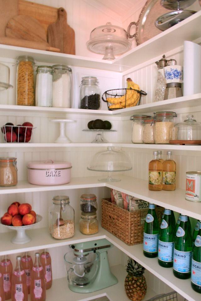 L Shaped Pantry Kitchen Organization Pinterest Abstellraum And