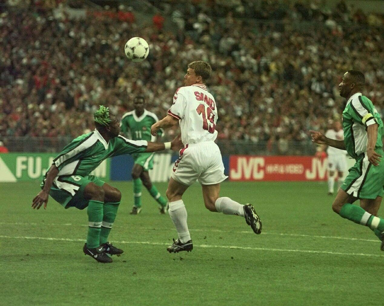 Image result for ebbe sand vs nigeria