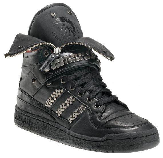 "premium selection bced3 37e11 ... ADIDAS x DIESEL Ltd Edition Forum Leather Jacket Rock Punk Trainers  httpcgi Nike Lunar Terra Arktos "" ..."