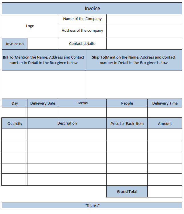 Cash Memo bill format in MS word template check some editable – Project Memo Template