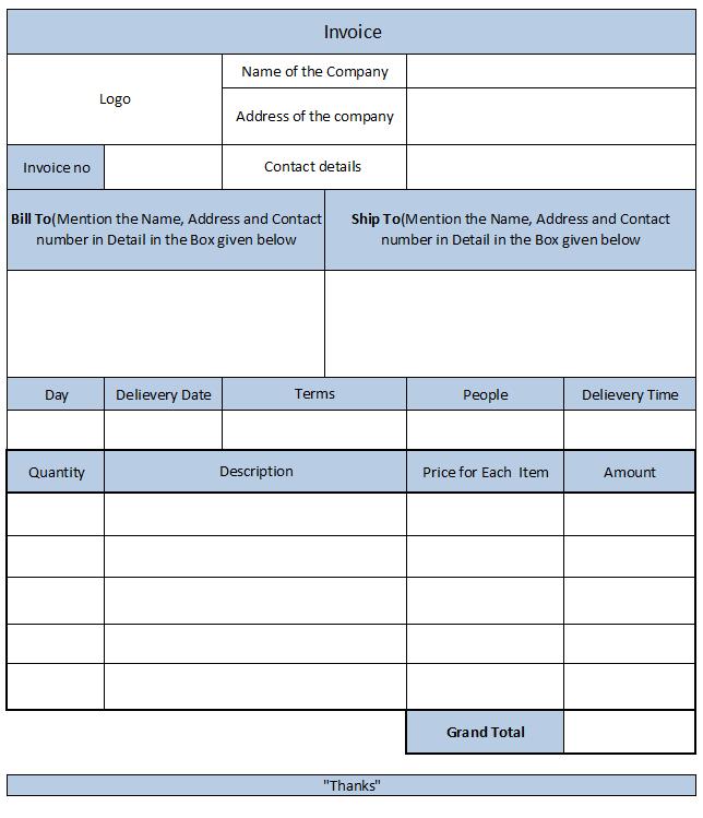 Cash Memo bill format in MS word template check some editable – Cash Memo Format