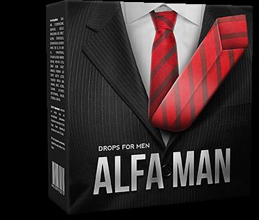 Alfa Man - капли для потенции. Мощная и мгновенная эрекция ...