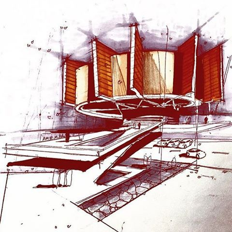 modern architectural sketches. Perfect Architectural By Amirmbibak57 Sketch_arq  Sketch ArchitectureModern  And Modern Architectural Sketches S