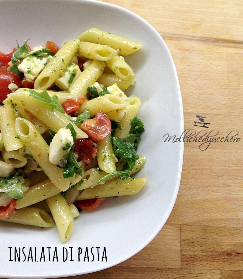 Insalata di pasta veloce primi piatti pasta food e salad for Ricette italiane primi piatti