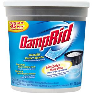 Great Idea To Help Absorb Moisture In Diaper Pail! DampRid Refillable  Moisture Absorber, 10.5