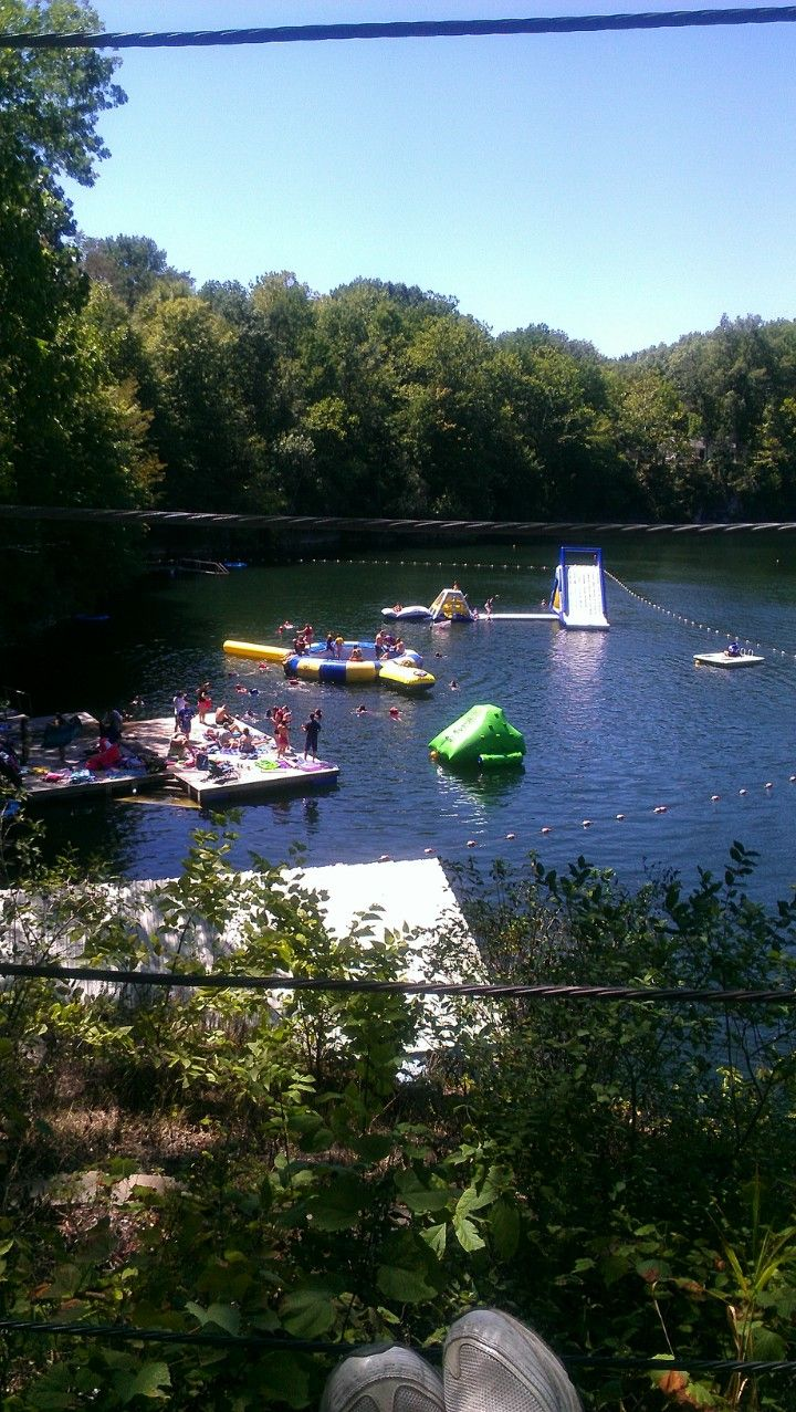 This Is The Water Park Where We Camp At Hidden Paradise