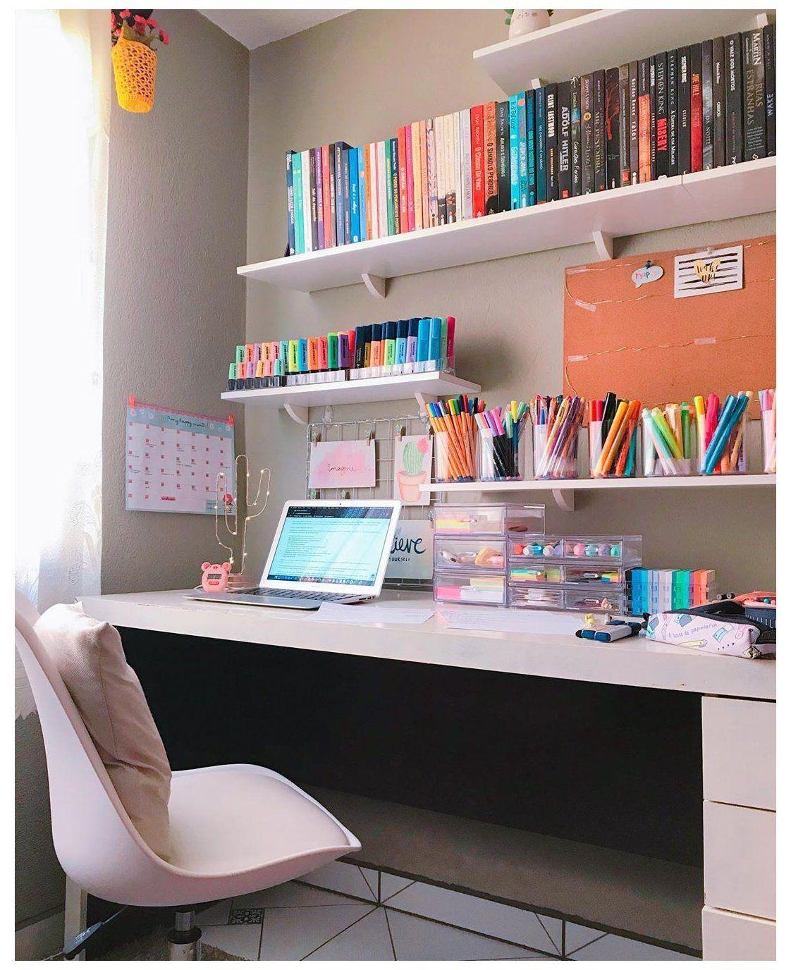 desk organization ideas bedroom