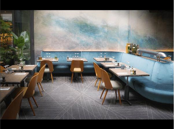 Hotel National Des Arts Et Metiers Design D Interieur Du Bar Design De Restaurant Design De Cafe