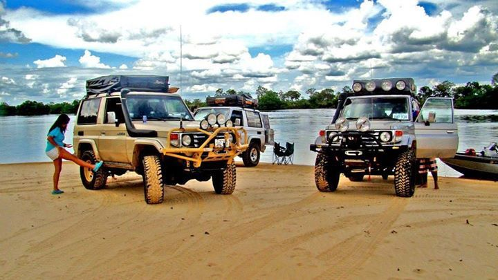 Toyota Land Cruisers