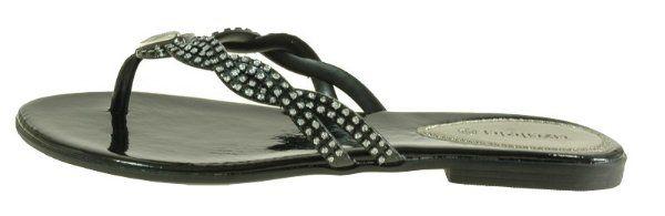 80 Off Japonki Klapki Lekkie Azaleia Czarny 39 2498008002 Oficjalne Archiwum Allegro Shoes Items Sandals