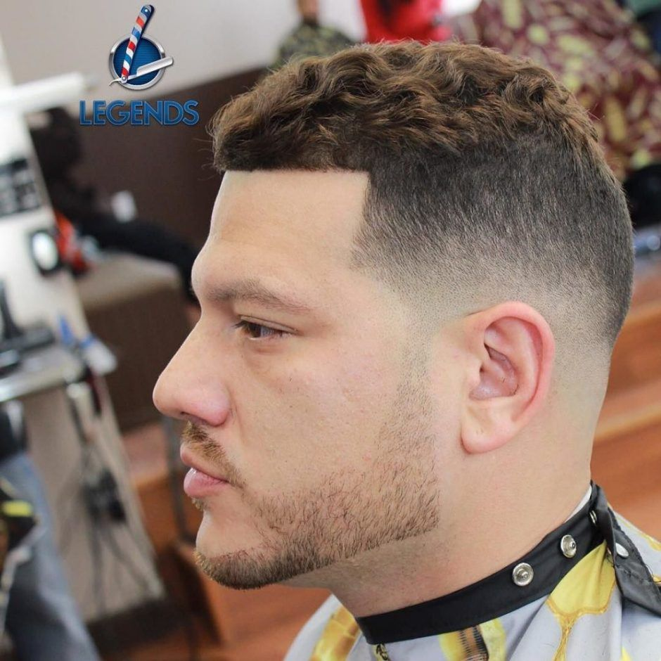 High And Tight For Curly Hair  Curly hair men, Wavy hair men