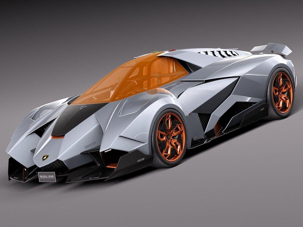 Exceptionnel 3d Concept Lamborghini Egoista