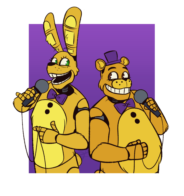 "Bonnieandfriends: ""Animatronic August :: Day 1 & 2"