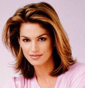 cindy crawford short hairstyle  short hair styles medium