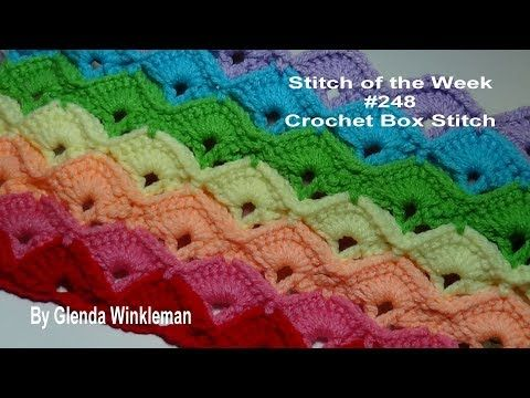 Stitch Of The Week 248 The Crochet Box Stitch Crochet Tutorial