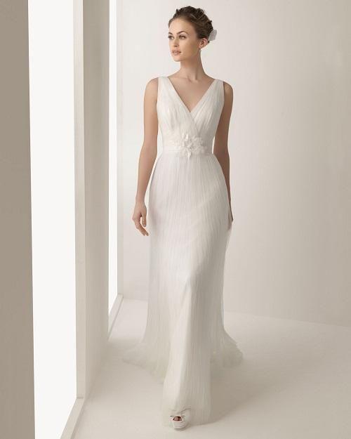 vestido de boda sencillos - Buscar con Google | vestidos de novia ...