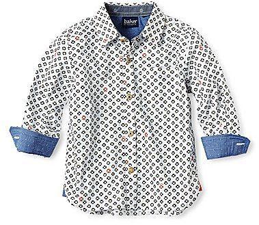 5be14bf8c Ted Baker Lifesaver Print Long-Sleeve Shirt - Boys 2-6 on shopstyle ...