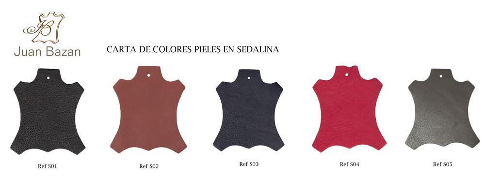 Colores Vaqueta y Colores Seda | Juan Bazan Articulos de Piel #cadiz
