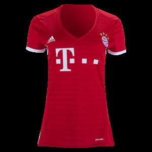 Bayern Munich 16 17 Women s Home Soccer Jersey  Soccer  Bundesliga  Jerseys    23cf25f0a