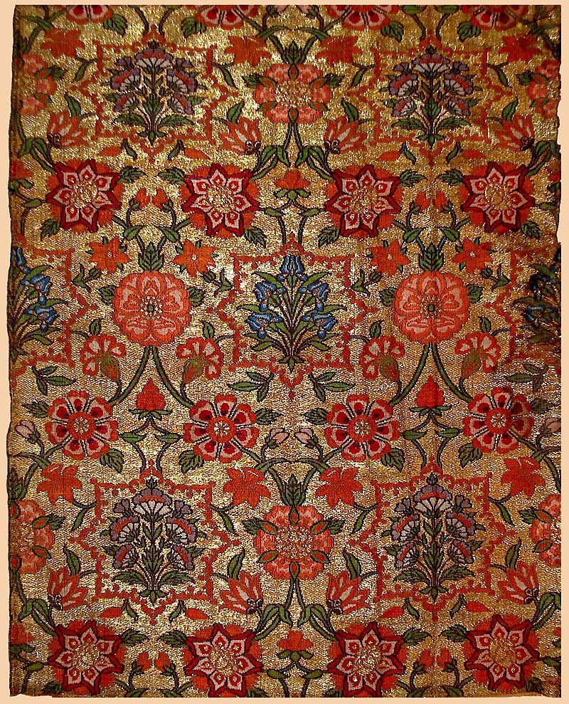 Persian Fabric: Safavid Floral Textiles Of The 16th And 17th Centuries