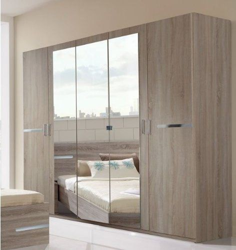 Delightful Germanica BAVARI Bedroom Furniture 4 Door Wardrobe In DARK OAK Colour  [Includes Full Assembly Service]   New And Used Oak Furniture At Great  Prices