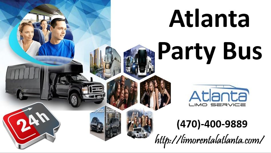 Atlanta Party Bus Atlanta party, Party bus, Limo rental