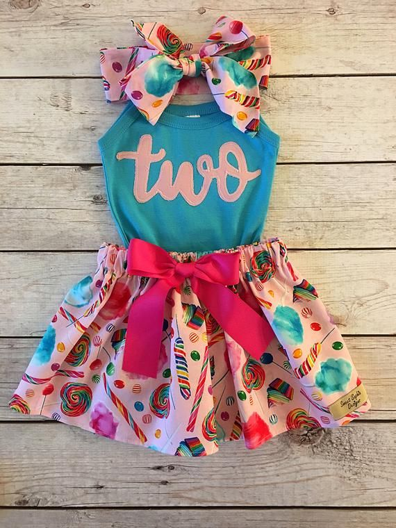 Candy Birthday Outfit, ANY BIRTHDAY, Sweet One Birthday Outfit, Two Sweet Birthday Outfit, Pink and Turquoise Birthday Outfit Toddler Girl #birthdayoutfit