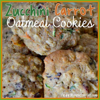 Zucchini-Carrot Oatmeal Cookies - Delicious and even somewhat nutritious!