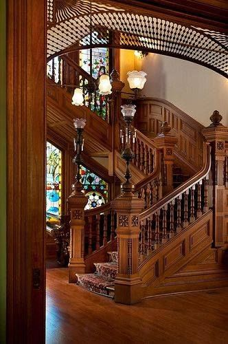 Best Staircase On Victorian House In San Diego Victorian 400 x 300