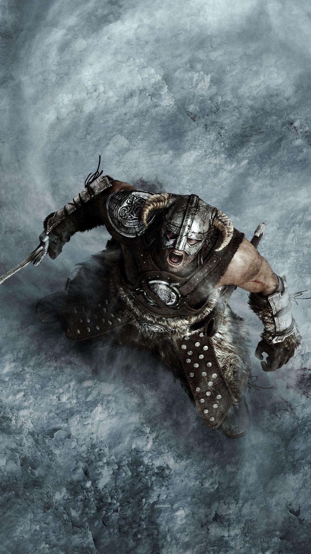 Skyrim Wallpaper Mobile em 2020 Witcher