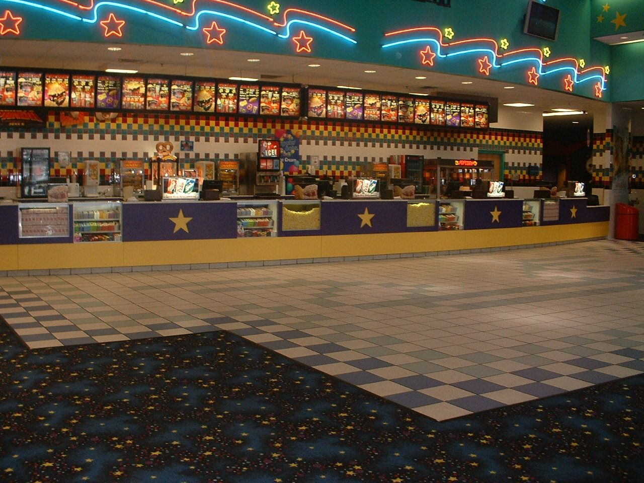 Concession Stand Galleria 14 Beckley Wv