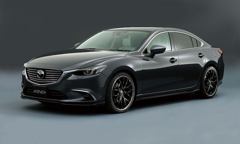 Tuned Mazda Models Revealed Ahead Of Tokyo Auto Salon Carscoops Mazda Mazda Cars Mazda 6