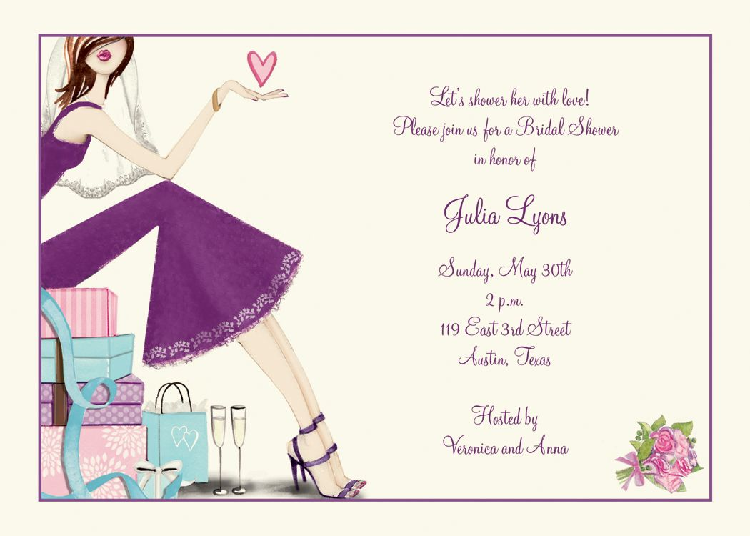 17 Best 1000 images about Bridal Shower Invitations on Pinterest