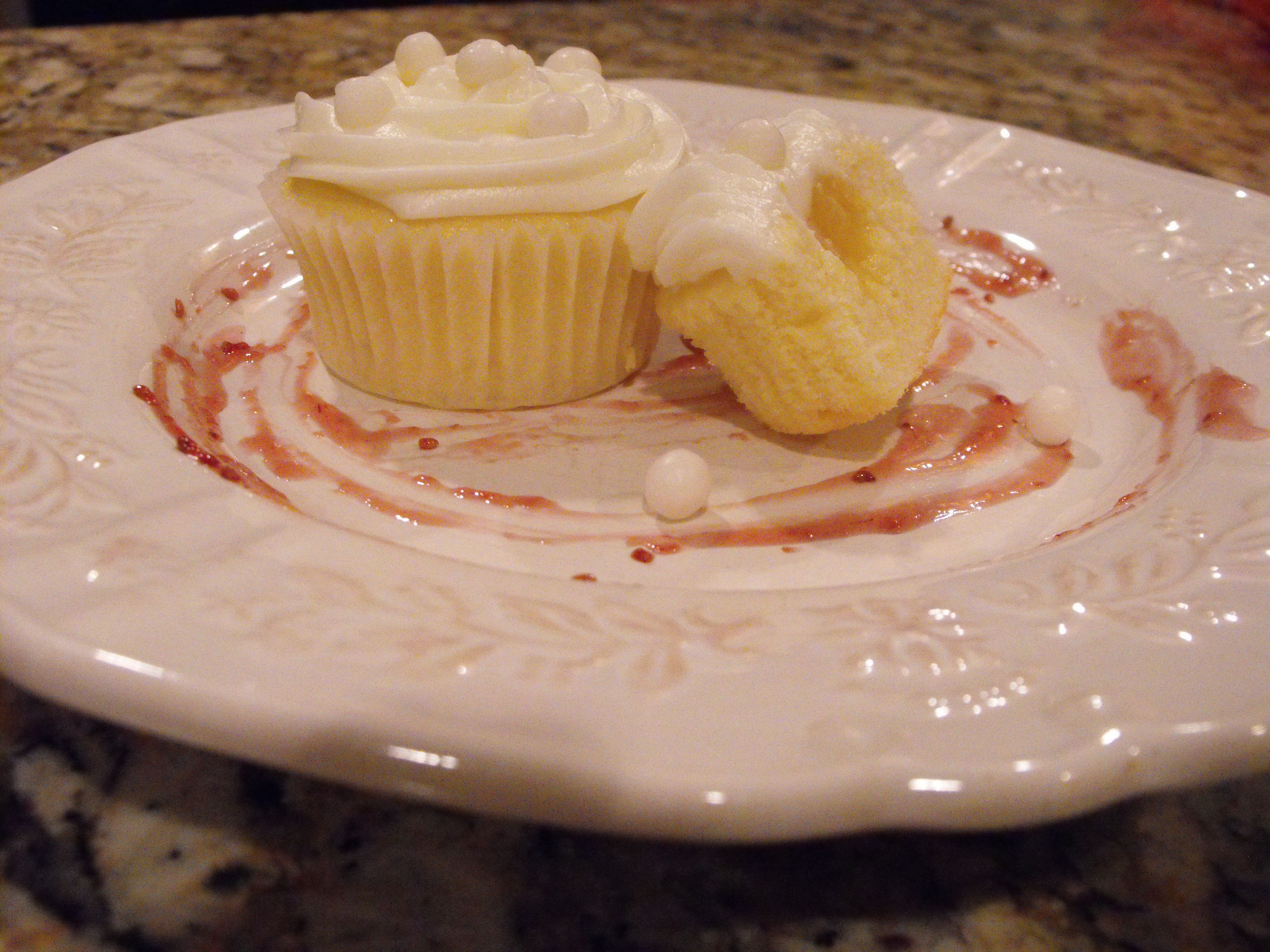 Limoncello Cupcakes- From Cooking with Nonna
