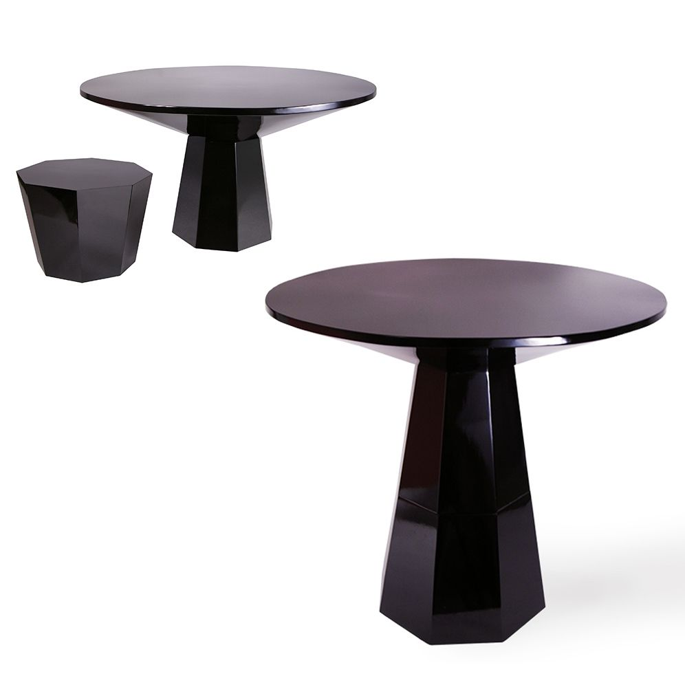 Table Haute Ou Table Basse Cette Table Vietnamienne S Adaptera A Toutes Vos Envies Table Haute Basse Bois Laque No Luminaire Mobilier Design Table Basse