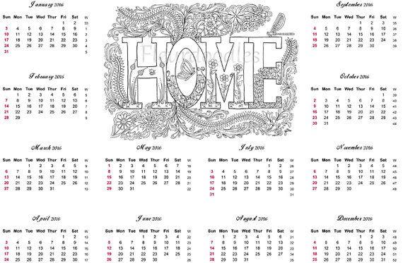 kalender 2016 und gratis passende malseite f r von. Black Bedroom Furniture Sets. Home Design Ideas