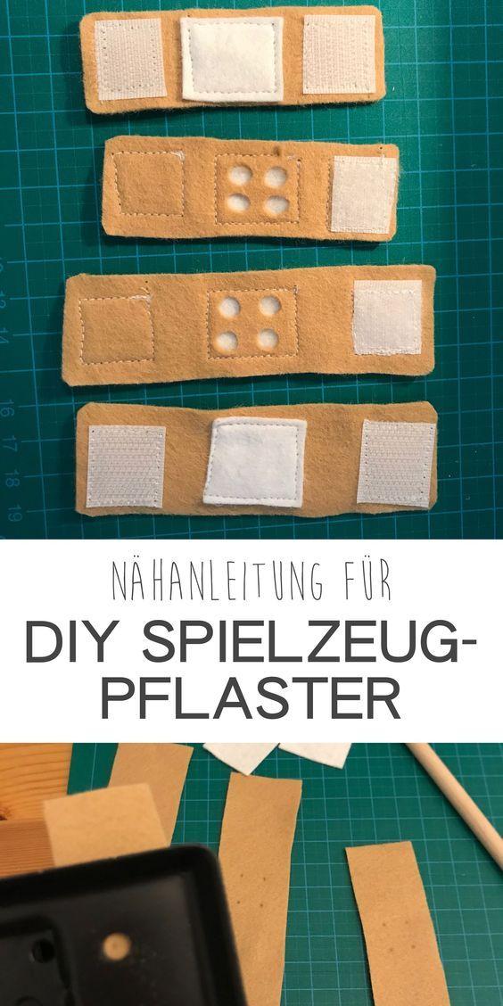 DIY Arztkoffer & Zubehör für Kinder #projectstotry