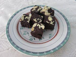 Frozen Brownies Hidangan Penutup Frozen Brownies