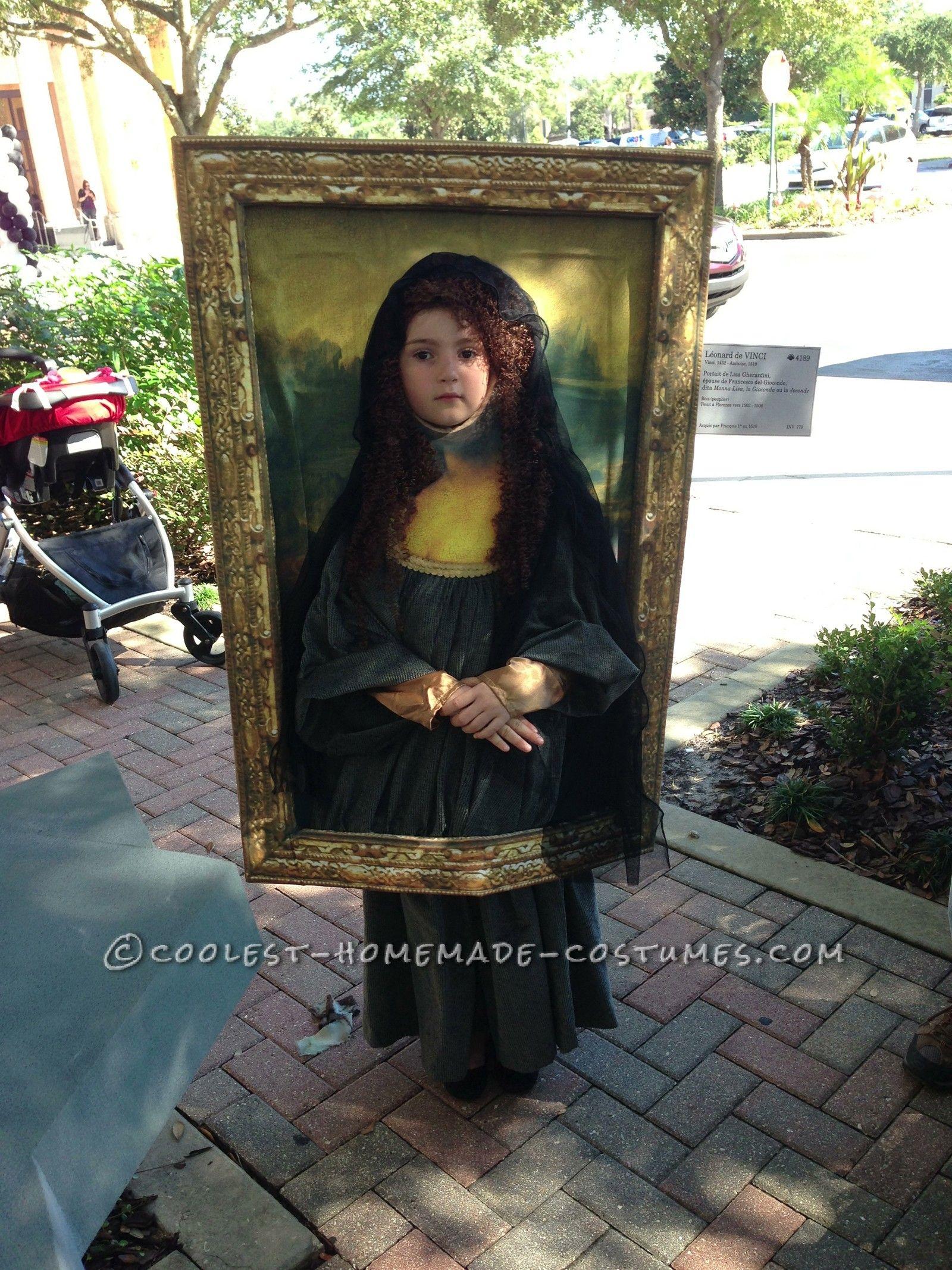 Diy Fancy Nails: Original DIY Costume Idea: Mona Lisa